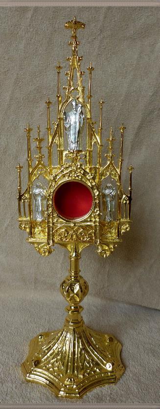 Relikwiarz Gotycki